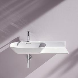 Laufen INO washbasin with shelf white, with 1 tap hole, with overflow