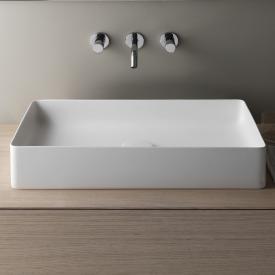 Laufen Living SaphirKeramik countertop washbasin matt white