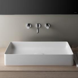 Laufen Living SaphirKeramik countertop washbasin white, with Clean Coat