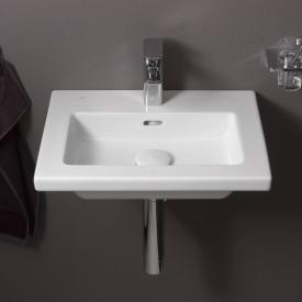 Laufen Living Square hand washbasin with 1 tap hole, ungrounded
