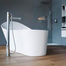 Laufen Palomba freestanding bath with LED lighting