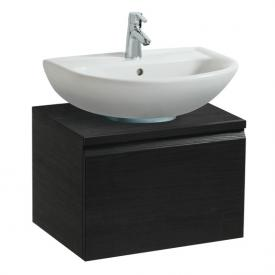 Laufen Pro B vanity unit with 1 pull-out compartment front wenge / corpus wenge