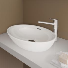 Laufen Pro B washbowl white, with CleanCoat, with overflow