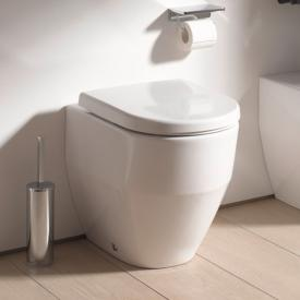 Laufen Pro floorstanding, washdown toilet without flushing rim, white, with Clean Coat