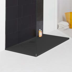 Laufen PRO rectangular shower tray, drain on the long side matt anthracite