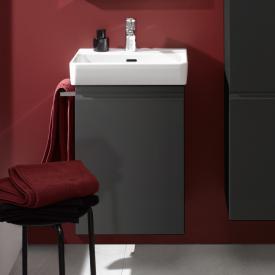 Laufen Pro S vanity unit with 1 door front graphite / corpus graphite