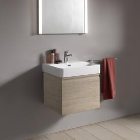 Laufen Pro S vanity unit with 1 pull-out compartment front light oak / corpus light oak, without inner drawer