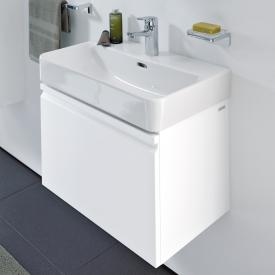 Laufen Pro S vanity unit with 1 pull-out compartment front matt white / corpus matt white, with inner drawer
