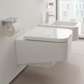 Laufen Pro S wall-mounted, washdown toilet, rimless white, with CleanCoat