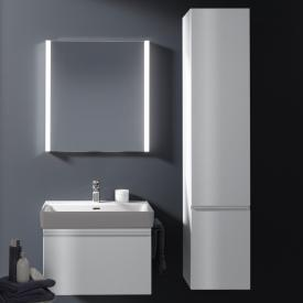 Laufen Pro tall unit with 1 door front white gloss / corpus white gloss