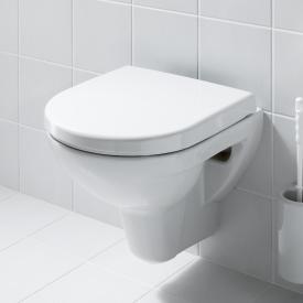 Laufen Pro wall-mounted washdown toilet, rimless white