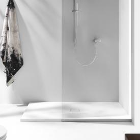 Laufen Solutions Marbond shower tray, drain in the middle matt white