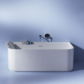 Laufen SONAR back-to-wall bath with panelling