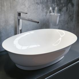 Laufen The New Classic countertop washbasin white, with Clean Coat, without overflow
