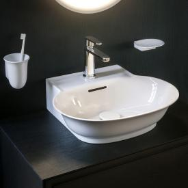 Laufen The New Classic hand washbasin white, with Clean Coat, with 1 tap hole, grounded