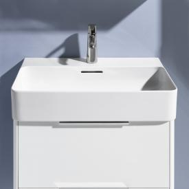 Laufen VAL washbasin white, with 1 tap hole, ungrounded, with overflow