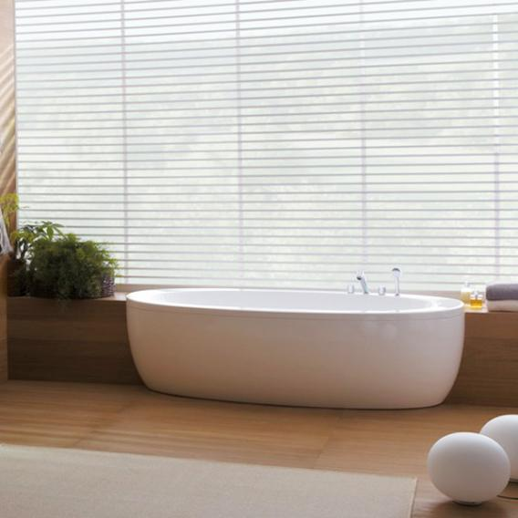 Laufen Alessi One oval bath with panelling
