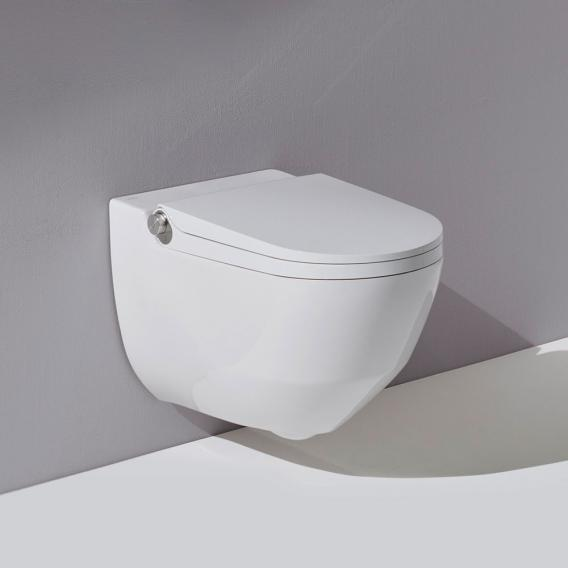 Laufen Cleanet Riva complete shower toilet set white with CleanCoat (LCC)