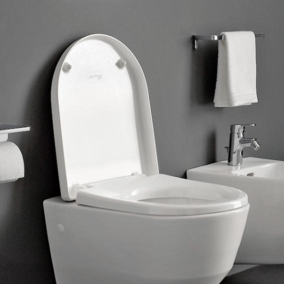 Laufen Pro toilet seat with lid for concealed fitting white, with soft-close