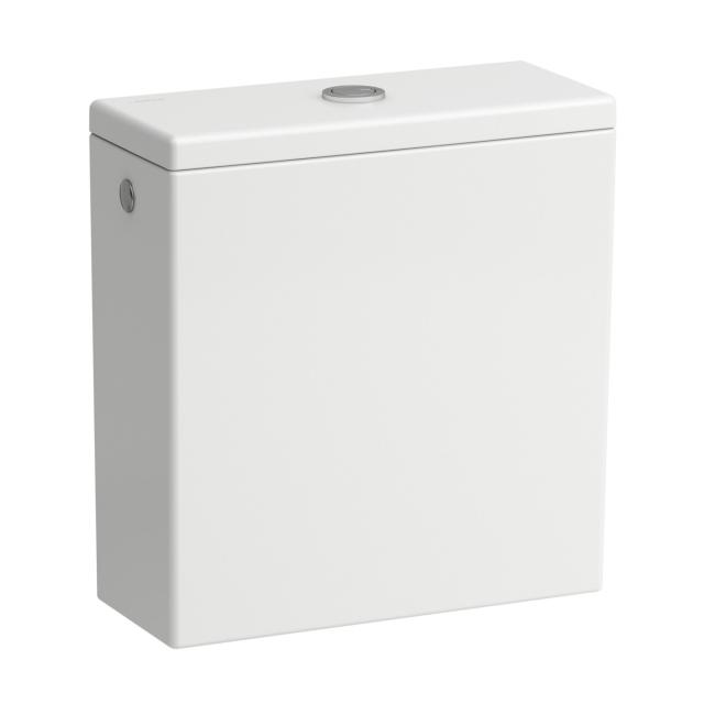 Kartell by Laufen cistern white, rear water connection