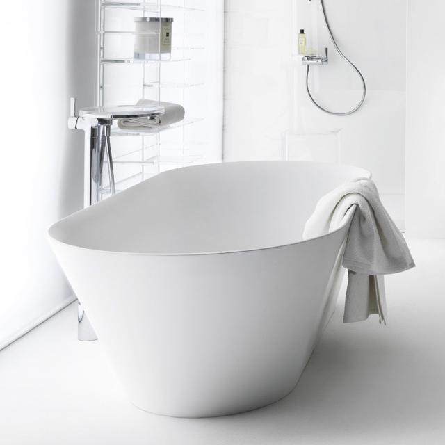 Kartell by LAUFEN freestanding oval bath