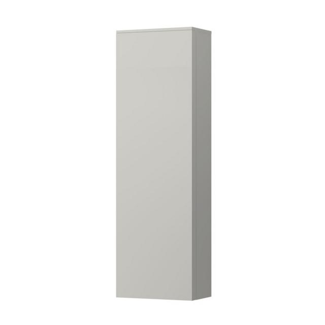 Kartell by LAUFEN medium unit with 1 door front pebble grey / corpus pebble grey