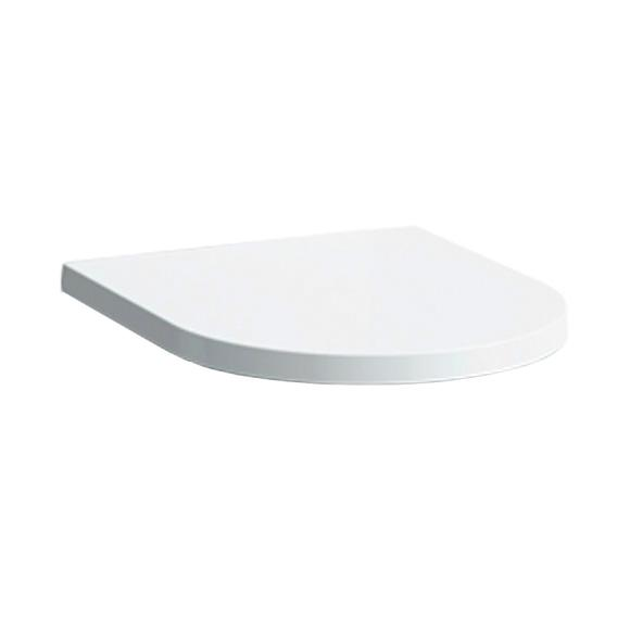Kartell by LAUFEN toilet seat with lid, removable white, with soft close