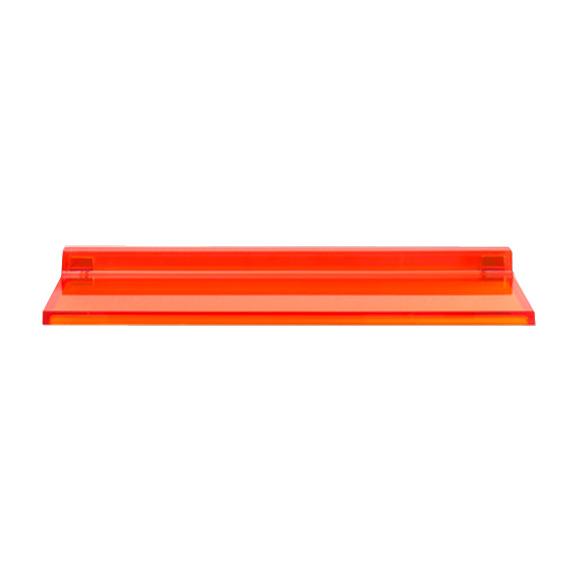 Kartell by LAUFEN wall-mounted shelf orange tangerine