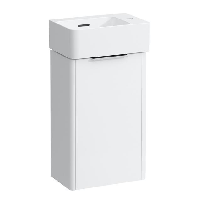 LAUFEN Base for VAL vanity unit for hand washbasin with 1 door front matt white / corpus matt white