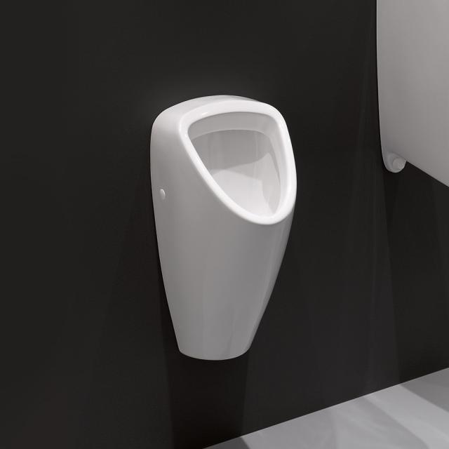 Laufen Caprino Plus urinal white, rear supply