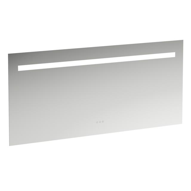 LAUFEN Leelo LED mirror 6000 K, with on/off switch and touch dimmer