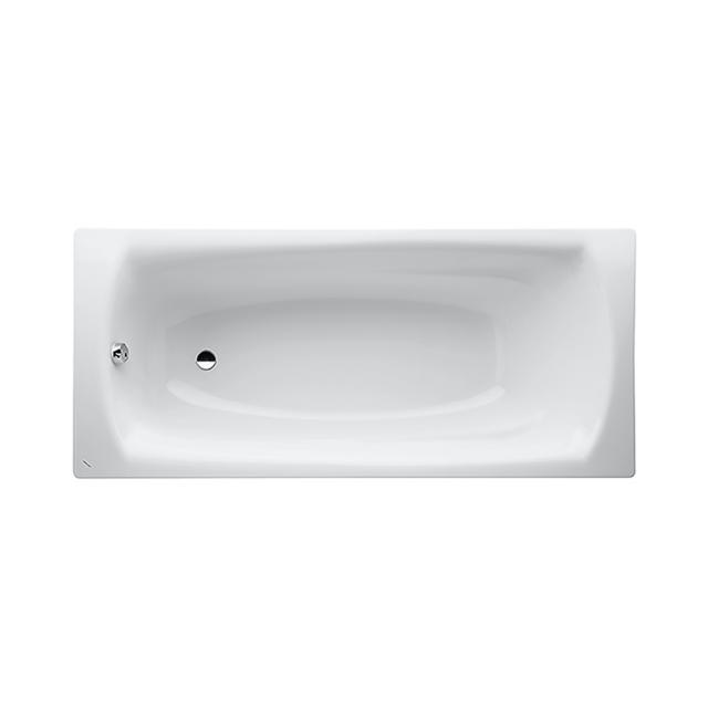 LAUFEN Palladium body-shaped, rectangular bath, built-in