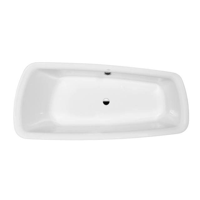 LAUFEN Palomba special-shaped bath, built-in, with 20 mm bath, built-in, rim white