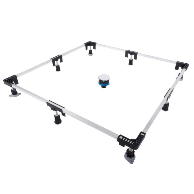 LAUFEN Solutions Marbond installation frame for shower trays up to 120 x 120