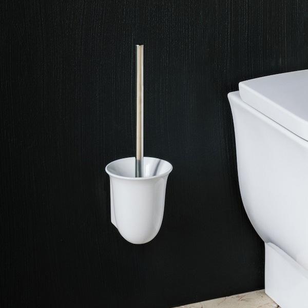 LAUFEN The New Classic toilet brush set white
