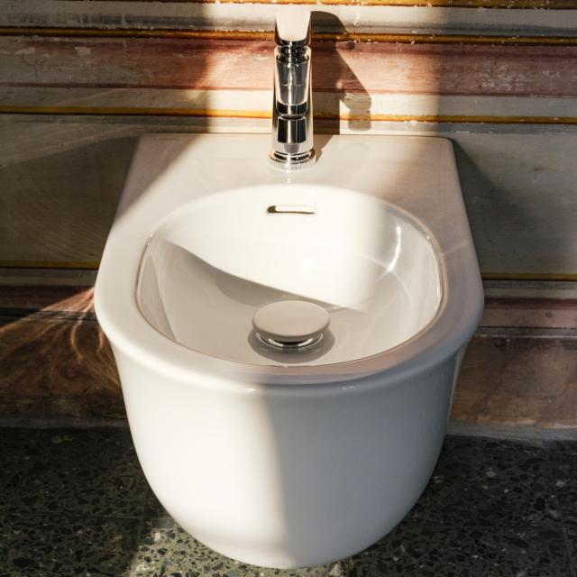 LAUFEN The New Classic wall-mounted bidet white, with Clean Coat