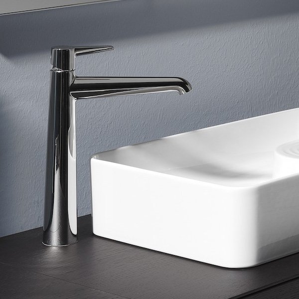 LAUFEN VAL basin fitting, without waste set chrome