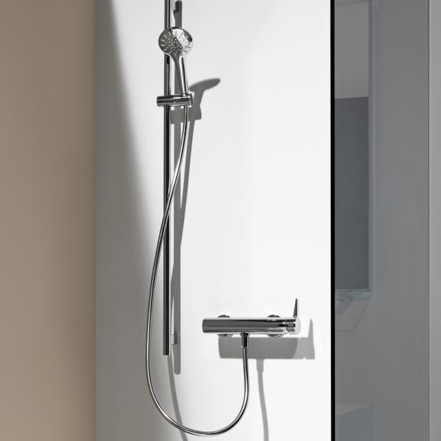LAUFEN VAL exposed shower fitting, with shower set