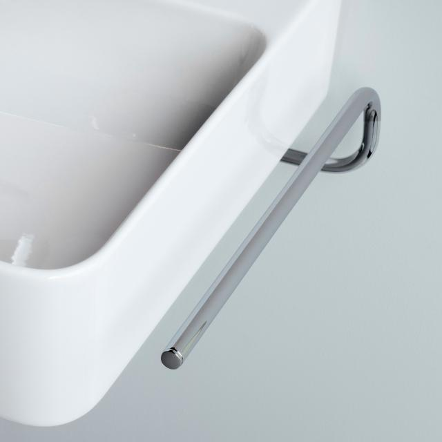 Laufen VAL towel rail for double washbasin VAL