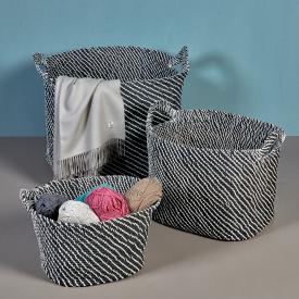 Lambert OBANO basket with a handle