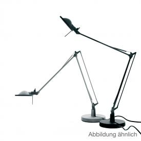 Luceplan Berenice table lamp with base Ø 15 cm and metal reflector