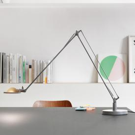 Luceplan Berenice table lamp with base Ø 13.5 cm and metal reflector
