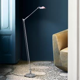Luceplan Berenice floor lamp with glass reflector