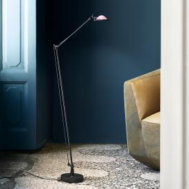 Luceplan Berenice floor lamp with glass reflector