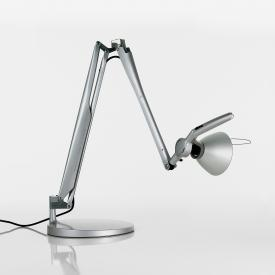 Luceplan Fortebraccio table lamp with base and on/off switch, 100 Watt
