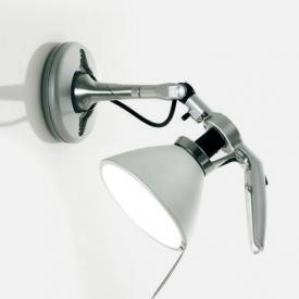 Luceplan Fortebraccio ceiling light / wall light with on/off switch, 100 Watt