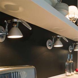 Luceplan Fortebraccio ceiling light / wall light  with on/off switch, 60 Watt