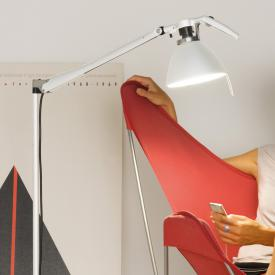 Luceplan Fortebraccio floor lamp with dimmer