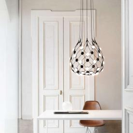 Luceplan Mesh D86 LED pendant light