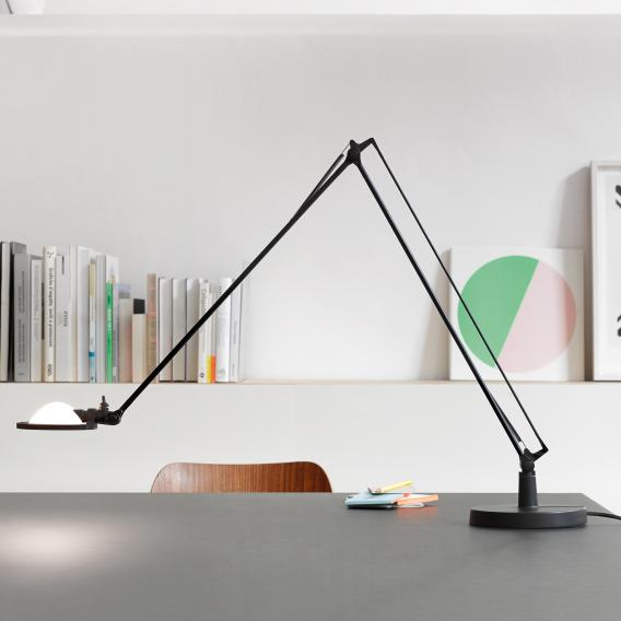 Luceplan Berenice table lamp with base Ø 13.5 cm and glass reflector